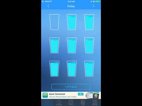 Daily Water: How Many Glasses Are You Drinking?