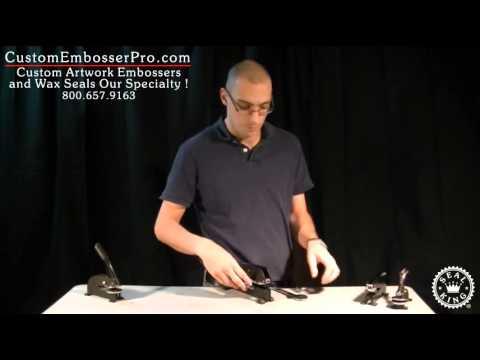 Custom Embosser Pro: How To Install an Extra Heavy Duty Embosser Clip
