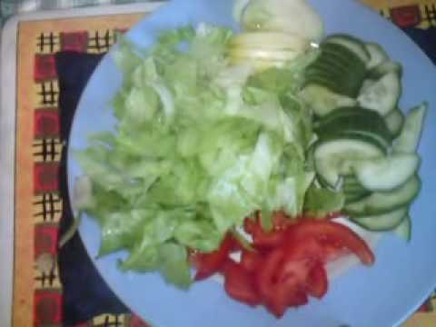 Salad With Olive Oil Dressing