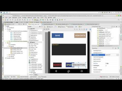 177 Android Studio SQLite Delete data