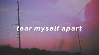 tear myself apart    Tate McRae Lyrics
