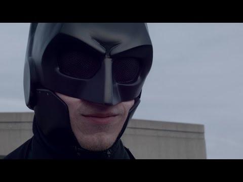 Student creates real life 'Batsuit' combat armor