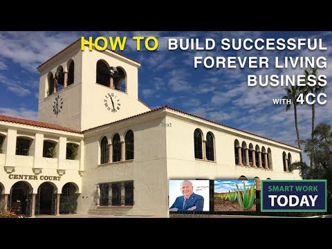 Building a Successful Forever Living Business with 4CC