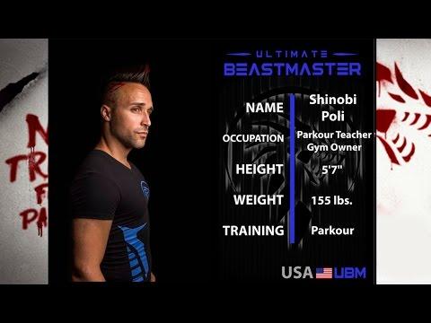 Netflix Ultimate Beastmaster Episode 9 – Shinobi Poli Team USA Interview!