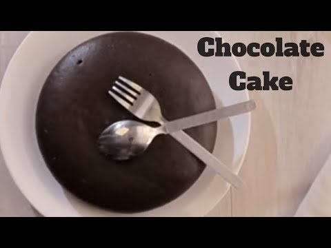 Eggless Chocolate Cake Recipe - Chocolate Cake in Pressure Cooker - Valentine's Special Cake Recipe