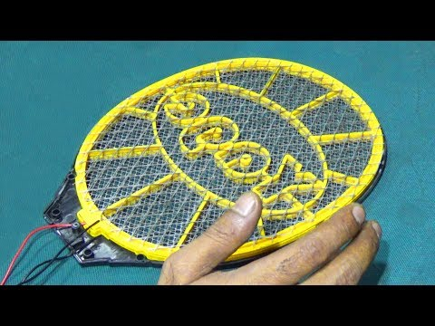 How To Repair High Voltage Fault Of A Mosquito Bat/ Racket (Bengali Tutorial Video)
