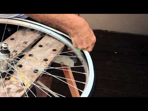 How to install your Puncture Proof Bicycle Tubes and never change a flat tyre again!
