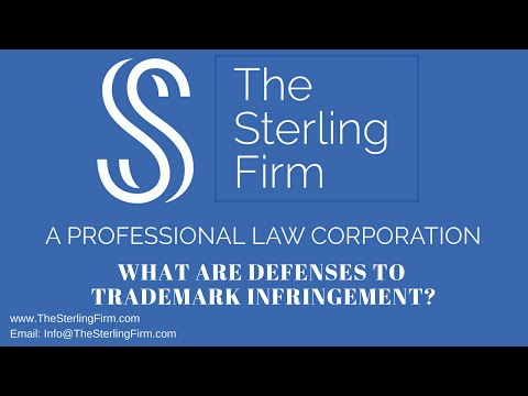 WHAT ARE DEFENSES TO TRADEMARK INFRINGEMENT?