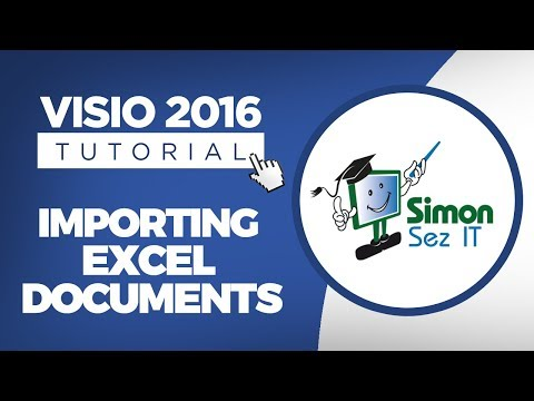 How to Import Data Into Visio 2016   Import Excel Data Into Visio