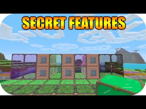 ★Minecraft Xbox 360 + PS3 Hidden Feature ALL Re-Textured Stained Glass & Command Blocks ★