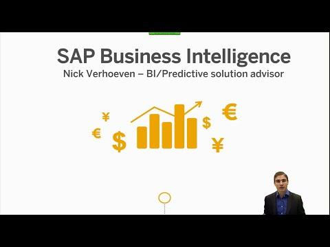 SAP BI Overview webinar