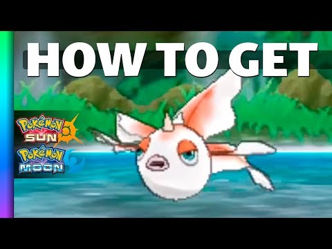 HOW TO GET Goldeen in Pokemon Sun and Moon