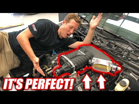 Burnout Patrol EP.4 - The NEW Supercharger Looks INSANE! (+Wiring/Transmission Update)