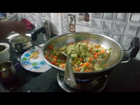 How to make vegetable paya part 2