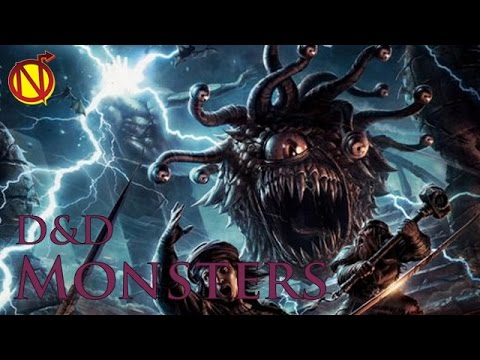 Beholders Also Known As Eye Tyrants| Dungeons and Dragons Monsters