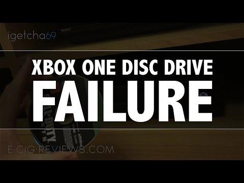XBOX ONE DISC DRIVE FAILURE