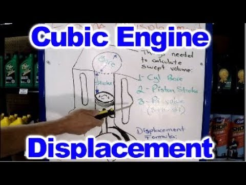 How to calculate Cubic Engine Displacement