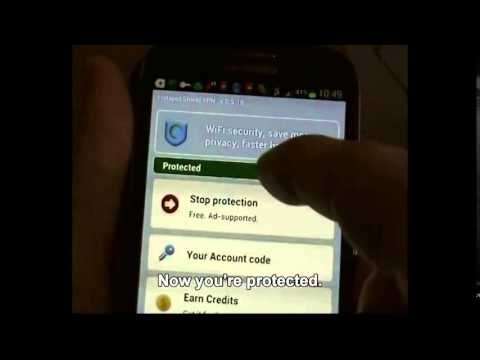 Téléchargement et installation Hotspot shield for android mobile