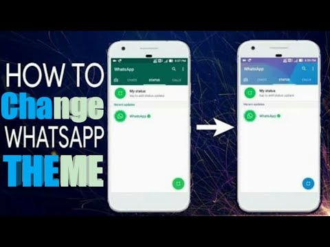 How to Change Whatsapp Theme|Best themes For whatsapp