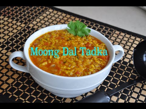 Moong Dal Tadka-Simple yet full of flavors-Great source of protein.