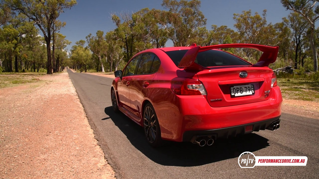 2018 Subaru WRX STI spec.R 0-100km/h & engine sound