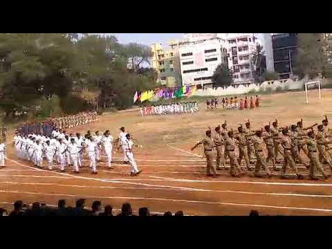 Andhra Loyola college sports day 2018