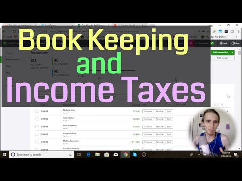 TAXES How To Automate Book Keeping to Pay Income Taxes as a Drop Shipper