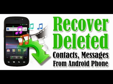 How to recover deleted contacts / Phone Number