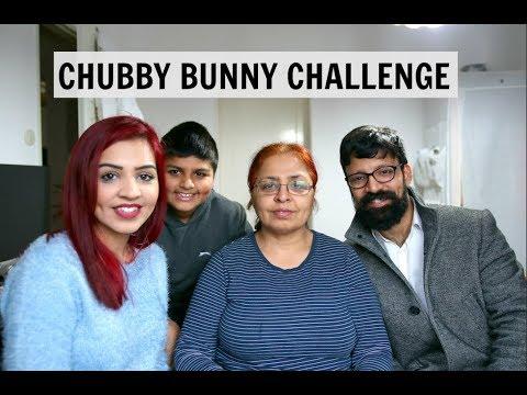 CHUBBY BUNNY CHALLENGE | SABA ALI