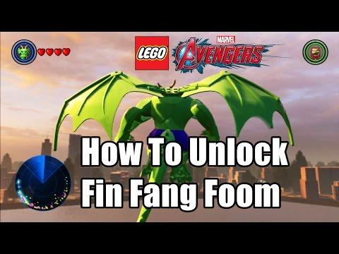 How To Unlock Fin Fang Foom LEGO Marvel's Avengers HD