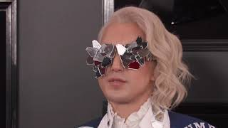 Ricky Rebel On The Red Carpet | 2019 GRAMMYs