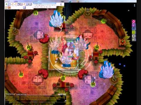 idRO Warlock Jobchange Quest [Magic Room].wmv