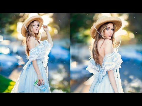 How I add More Bokeh and Make Background Pop, Photoshop Tutorial