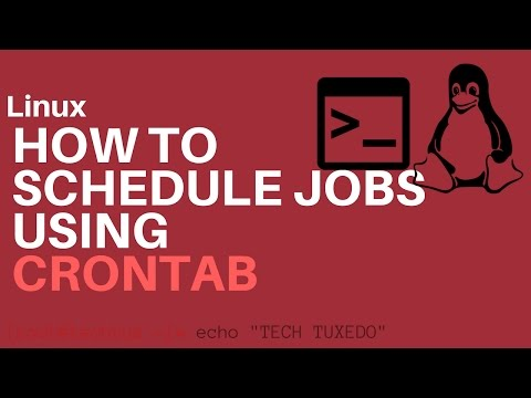 How to schedule cronjobs
