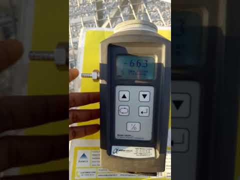Dew point  Measurement video 2