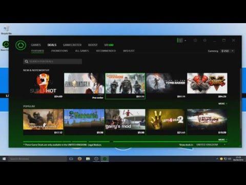 FPS Game Boosting Tutorial Razer Cortex Game Booster 2016