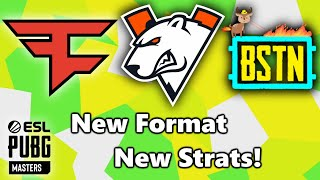 FAZE CLAN - VIRTUS PRO - BYSTANDERS - New Format New Strats! - ESL PUBG MASTERS - Stage 2 - Match 3