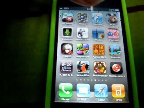 iPhone 4 sideways problem