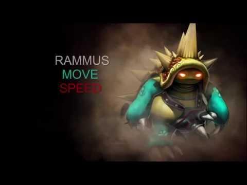 Rammus Move Speed
