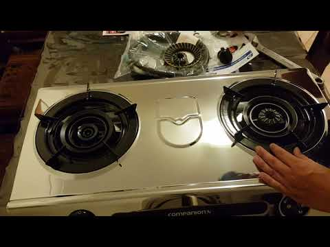How to Assemble Companions Wok Cooker Burner