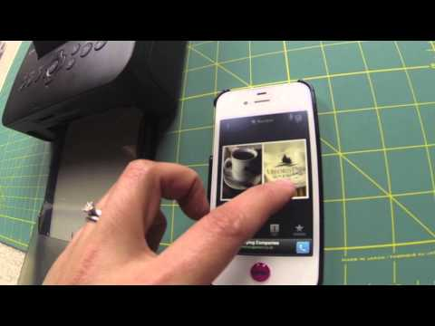Printing from Canon Selphy using photos from iPhone via WiFi
