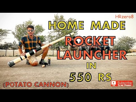 Home-made Rocket Launcher in 550 Rs (How to make)