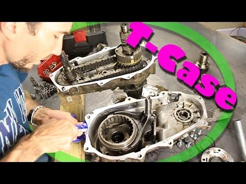 How-To Open a Transfer Case / Change Input Shaft - NP231