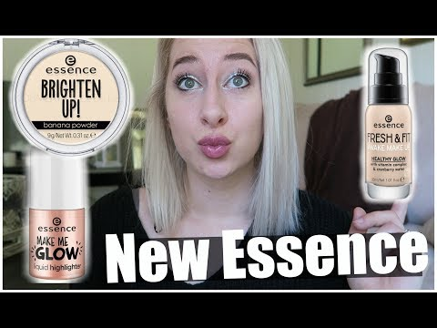 2018 new Essence Products Haul