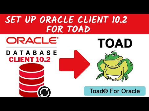 Oracle instant client set up for Toad developer.