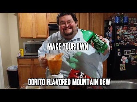 DORITOS FLAVORED MOUNTAIN DEW! DOITOS! HOW TO MAKE YOUR OWN!