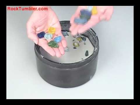 Making Tumbled Glass in a Rock Tumbler