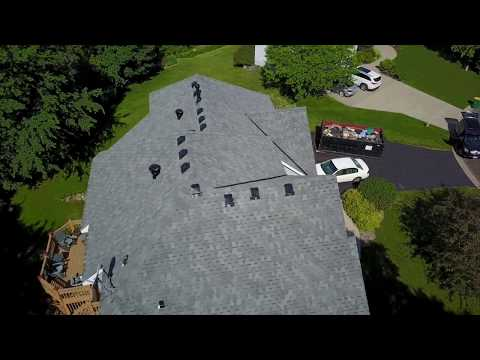 Insurance Replaces wind damaged roof (Discontinued IKO)