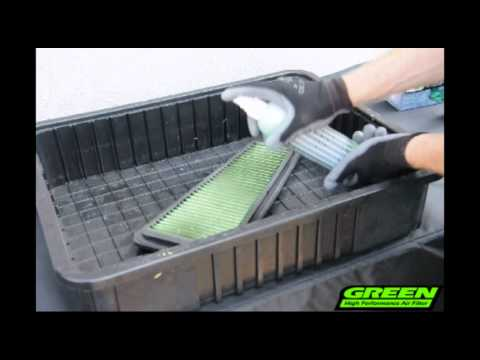 Green Filter USA - Filter Cleaning Demonstration