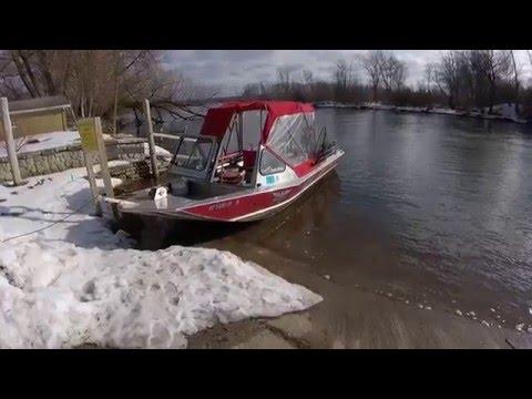 Craig Lee - Winter Steelhead Fishing Trip - Manistee Michigan - February 7, 2016